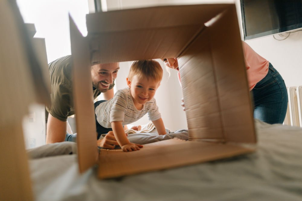 moving in together with kids