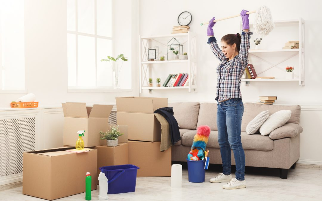 Did You Move Into A New Home? Here's How To Keep It Clean & Organized